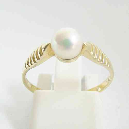 Ring Gold 585 Perle