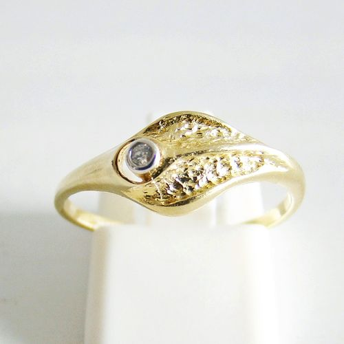 Ring Gold 333er Zirkon