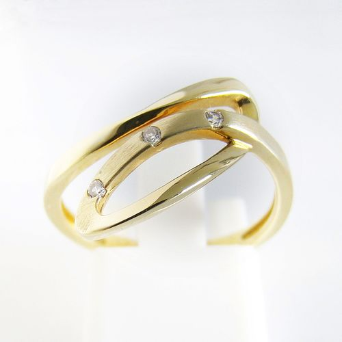 Ring Gold 333er Zirkonia