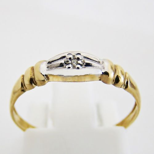 Ring Gold 333er Diamant