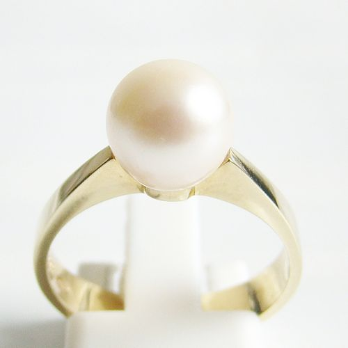 Ring Gold 585 Zuchtperle Akoya