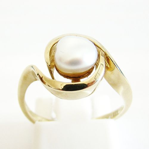 Ring Gold 333er Biwa