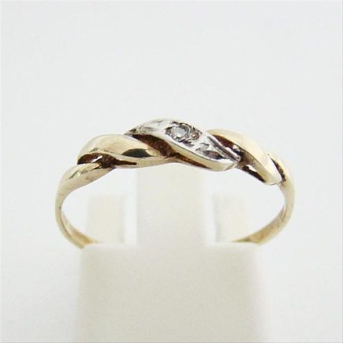 Ring Gold 333 Diamant