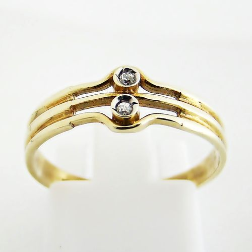 Ring Gold 333 Zirkonia