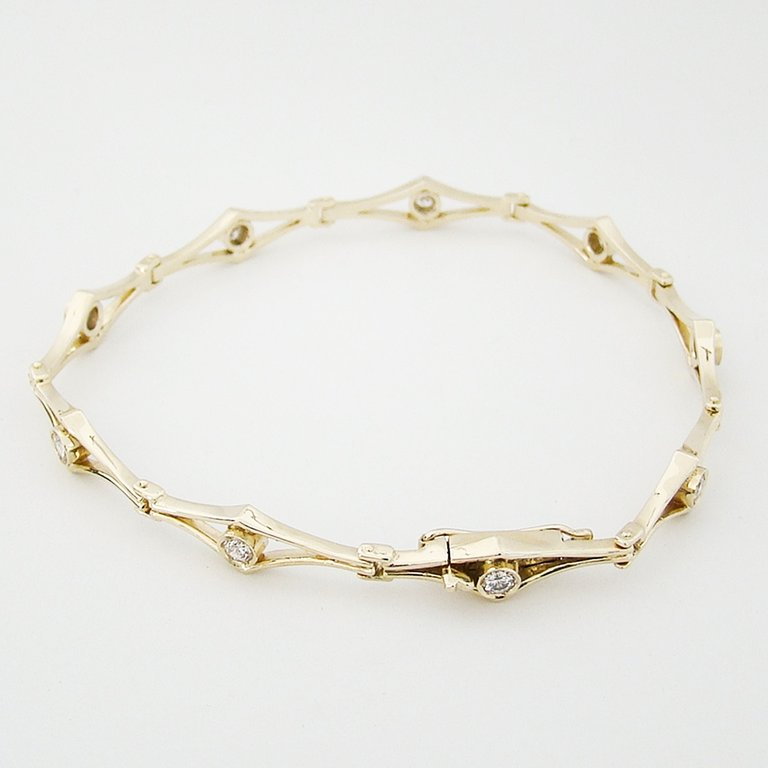 Armband Gold 585er Brillanten