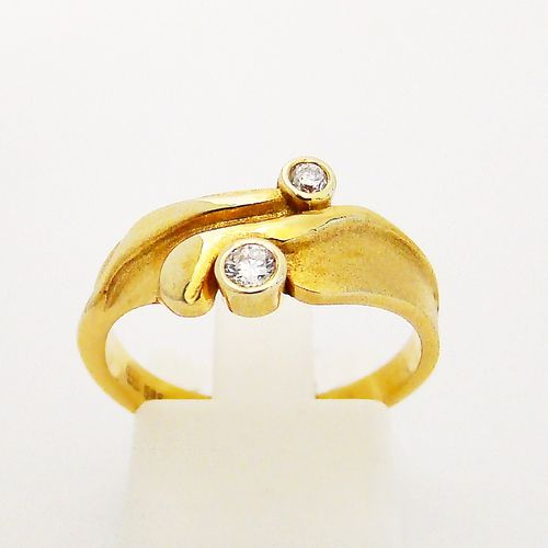 Ring Gold 585er Brillanten