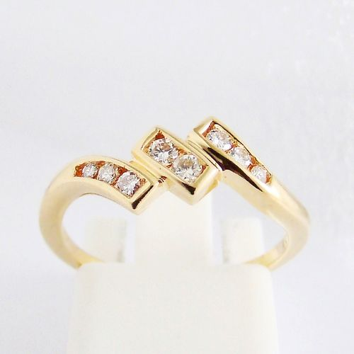 Ring Gold 750er Brillanten