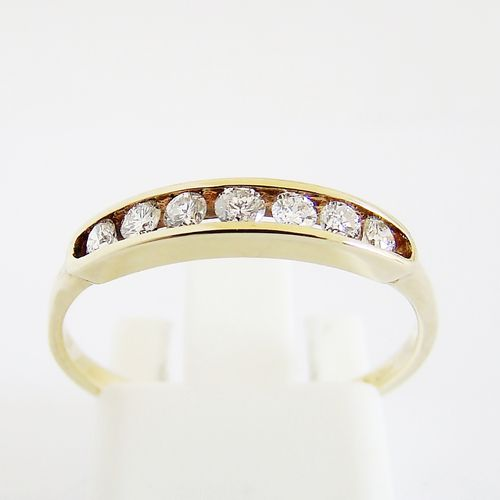 Ring Gold 585er Brillanten Memory